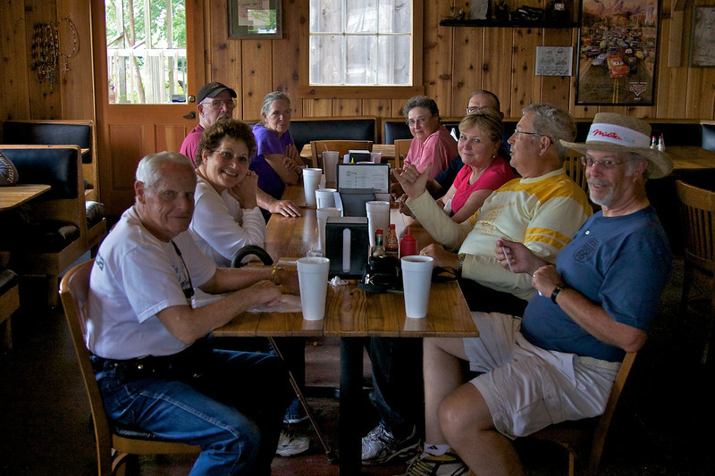 Day 6: We enjoyed lunch at the Rock Cafe.