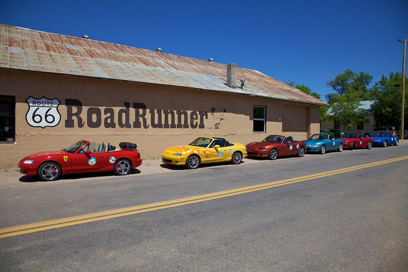 Day 12: Parked for sightseeing in Seligman, AZ.