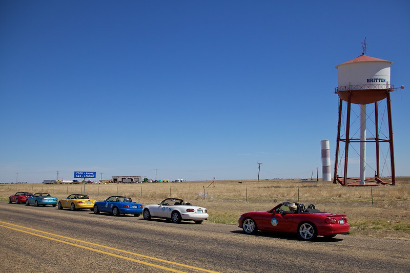 Day 8: The famous leaning water tower in Groom, TX.