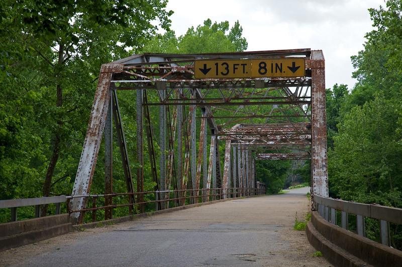 Day 4: The Devil's Elbow Bridge in Devil's Elbow, MO.
