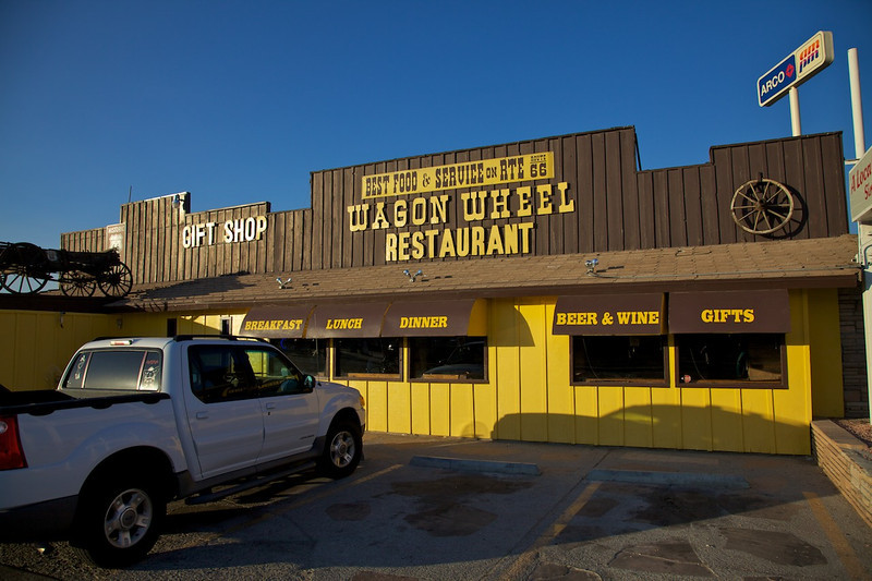 Day 12: Dinner was at the Wagon Wheel Restaurant in Needles, CA.