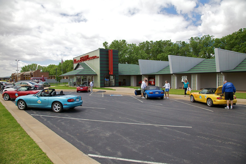 Day 7: The Route 66 Museum in Clinton, OK.  A must-stop when traveling The Mother Road!