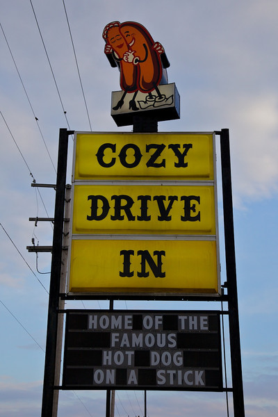 Day 1:  Cozy Dog Drive-In.