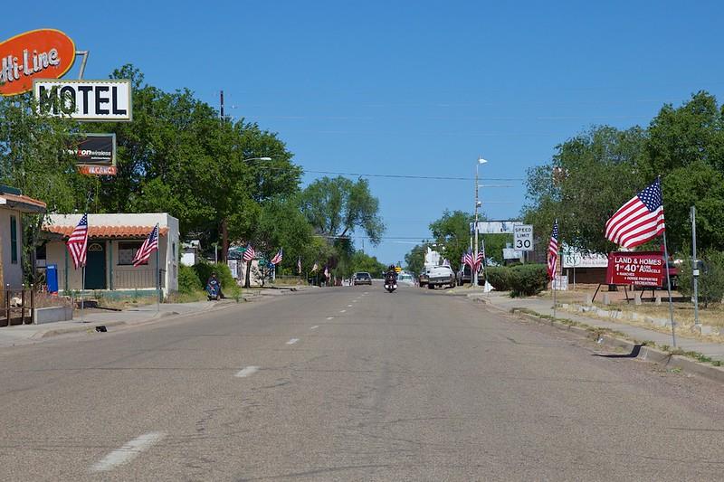 Day 12: Passing through Ash Fork, AZ.