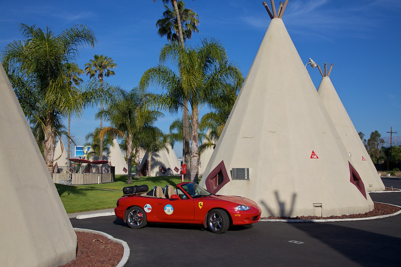 Day 14: A few more photos at the WigWam Motel before we push on to L.A.