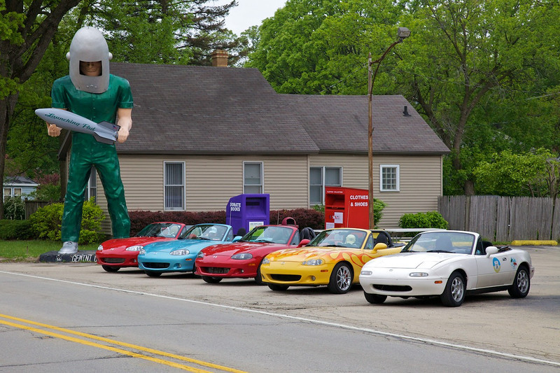 Day 1: The Gemini Giant in Wilmington, IL.