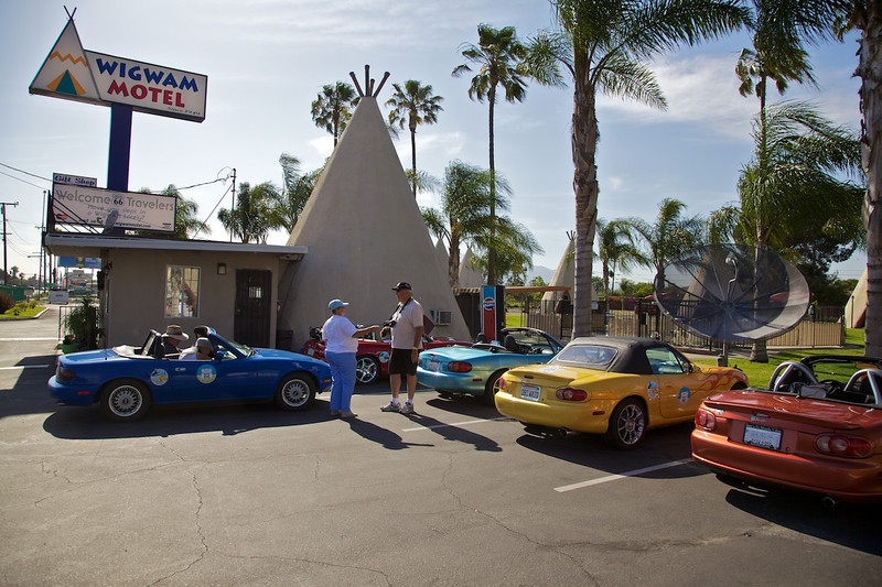 Day 13: The WigWam Motel, our overnight stay in San Bernardino, CA.