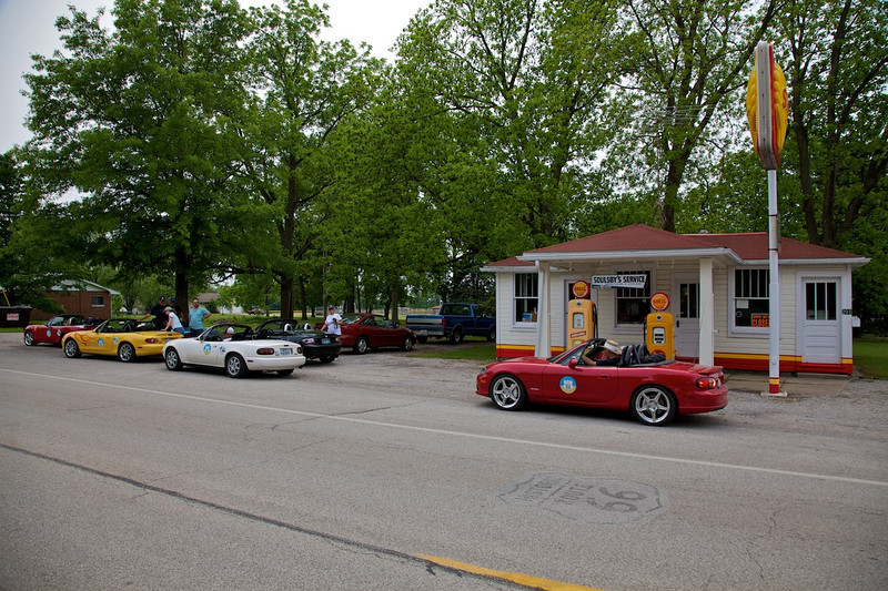 Day 2: Soulsby's Shell Station in Mount Olive, IL.