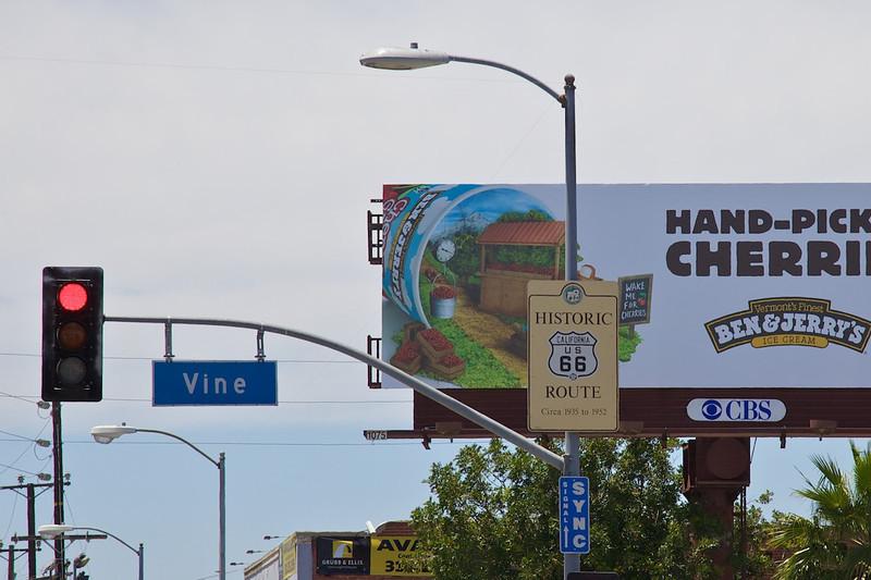 Day 14: Santa Monica Blvd. and Vine St.
