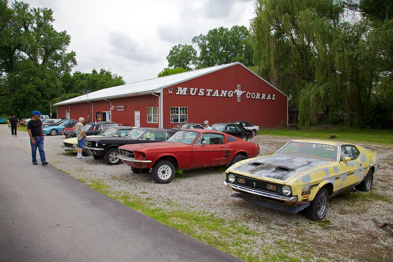 Day 2: The Mustang Corral just outside of St. Louis.