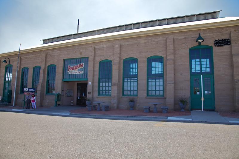 Day 12: The Powerhouse Visitor Center in Kingman, AZ.