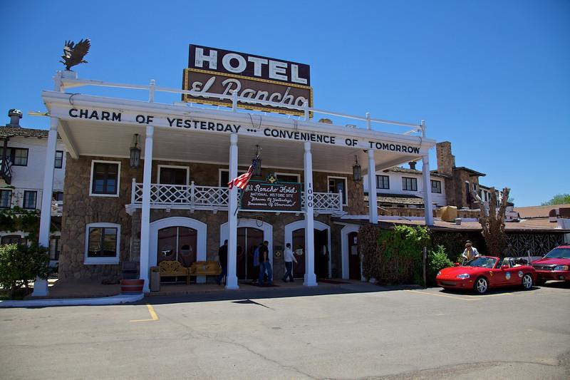 Day 10: At the El Rancho Motel in Gallup, NM.