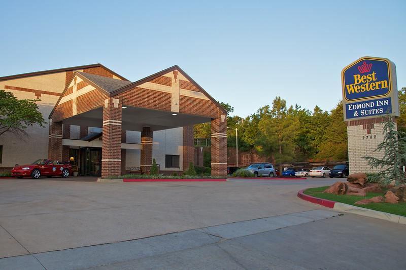 Day 7: The Best Western Edmond Inn & Suites, our overnight stay in Edmond, OK.