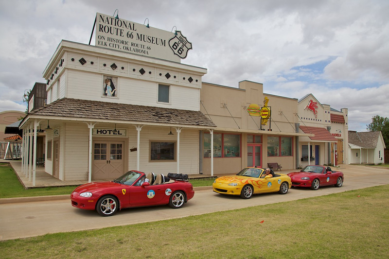 Day 7: The National Route 66 Museum in Elk City, OK.