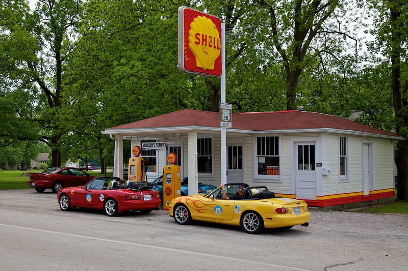 Day 2: Soulsby's Shell Station operated on Route 66 from 1926 until 1991.