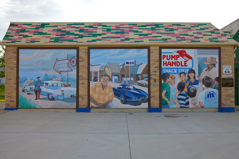 Day 3: The murals of Cuba, MO.