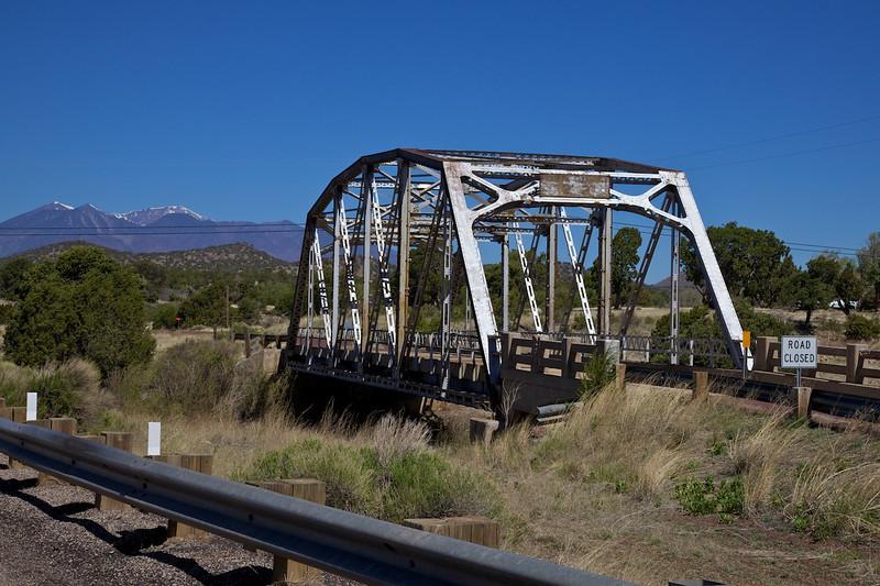 Day 11: Walnut Canyon Bridge in Winona, AZ.