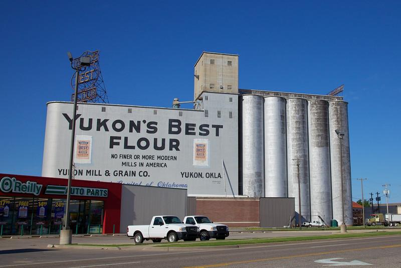 Day 7: Yukon's Best Flour mill in Yukon, OK.