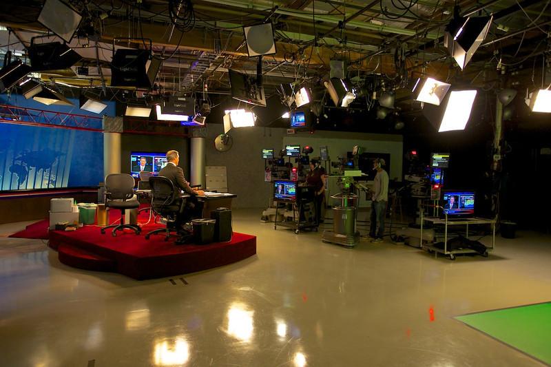 Behind the scenes at KUSI.