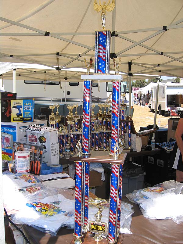 Our goal:  The GIANT Trophy for Best Car Club Participation!