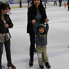 Caleb's first time ice skating!