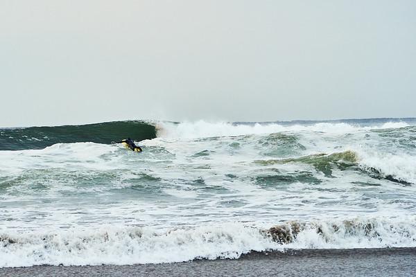 Surfer, Higgins Beach, Maine