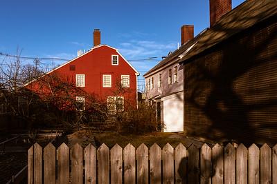 Picket Fence, Strawberry Banke, Portsmouth, New Hampshire