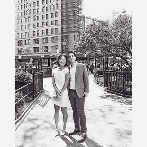 Michael and Sonya's engagement party on September 11, 2021 at Madison Park and Harding's in New York City.