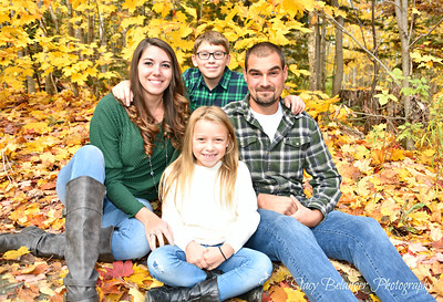 Michael and Leah's Fall Family Session