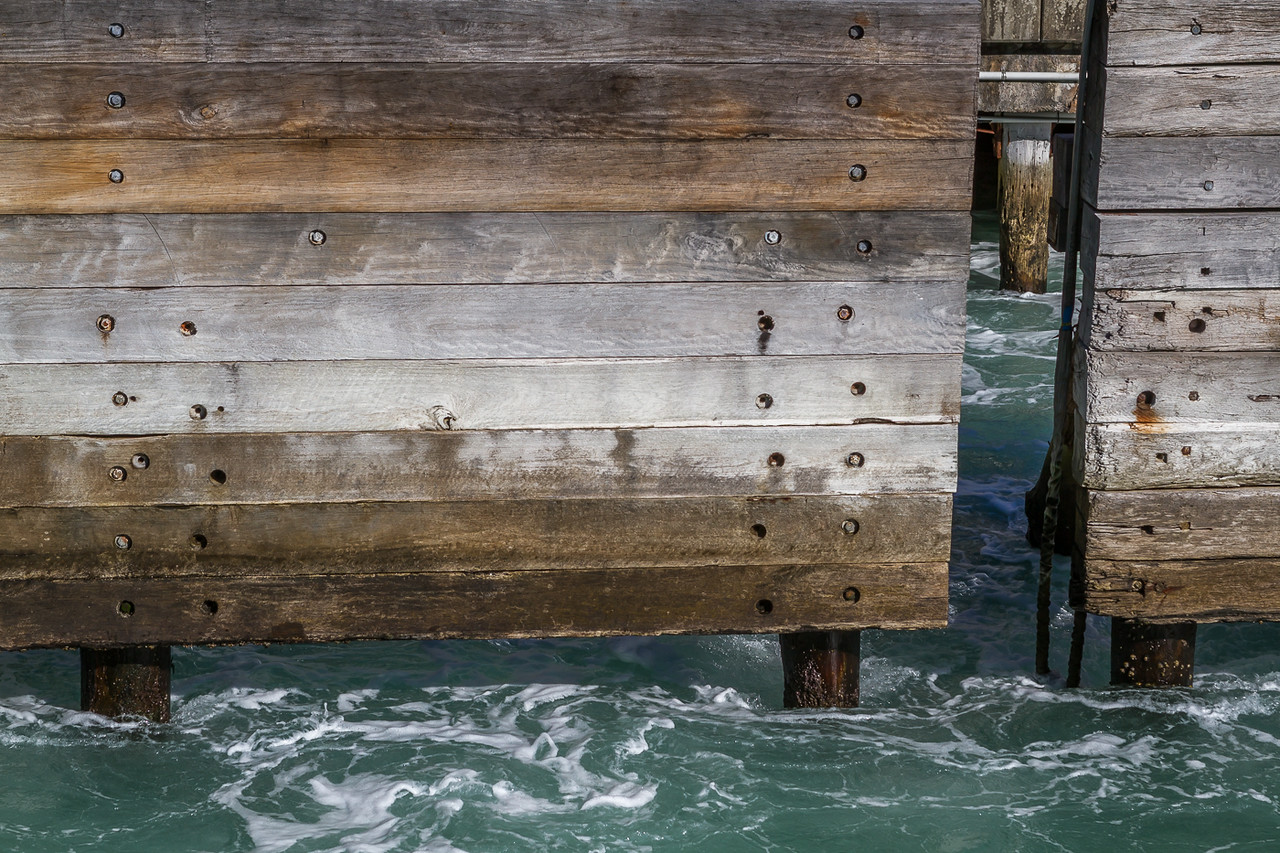 Barriers for the Manly Ferry at Circular Quay.