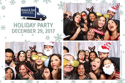 Michael & Son Holiday Party 2017 Photo Booth