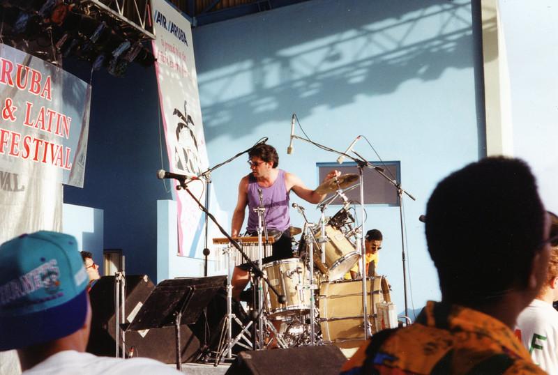 Drummer Clint deGannon.