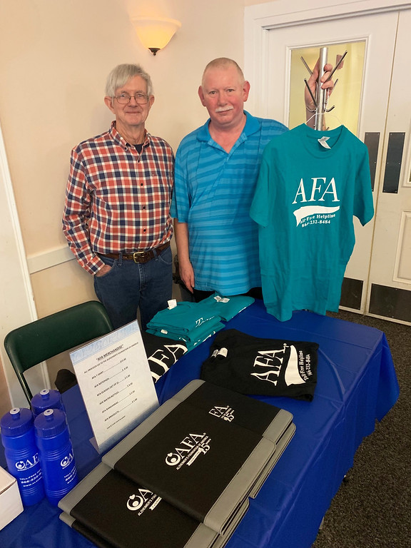 . Bob Dunlap of New Hampshire and Allen Pajak of Methuen