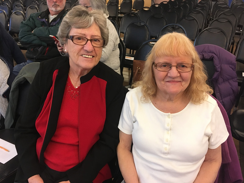 Claire Levesque of Dracut, Lucille LaChapelle of Lowell