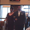 Paul walking his mother down the aisle