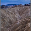 Badlands of Gower Gultch as seen from Zabriskie's Point