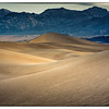 Early morning light on the Mesquite Sand Dunes