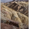 Dust storm at Zabriskie Point