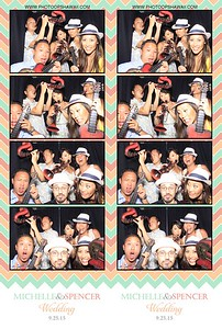 Michelle & Spencer (Stand Up Photo Booth)