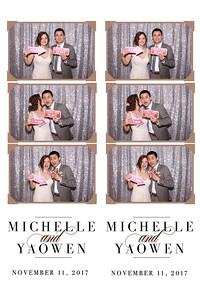Michelle & Yaowen's Wedding