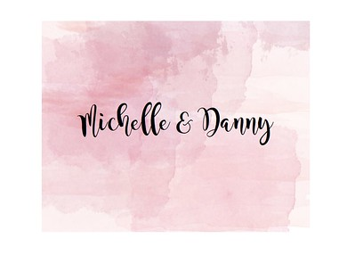 Michelle and Danny