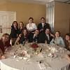"""The Loud Table"" at Erin & Aaron's wedding"