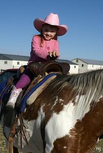 November 17 our niece, cowgirl Anna