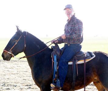 November 19 Brian's father, Curt,  aboard Mae.