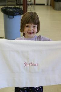 December 27 our niece, Justene