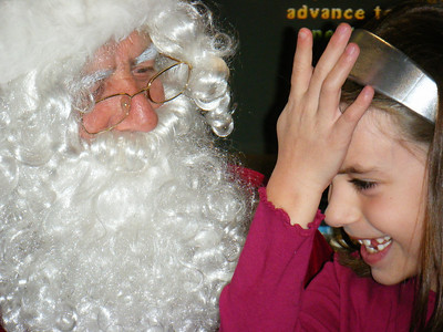 December 9 when put on the spot, Little forgot what she wanted!  :)