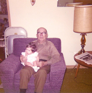 November 14 baby bsktgirl & great grandpa