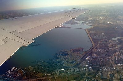 north texas from the wing