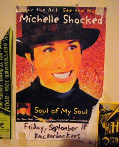 seen in Lincoln ~ Michelle Shocked.