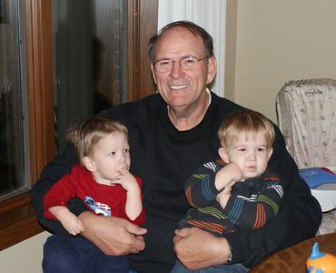 grandpa & his boys